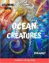 Ocean Creatures Coloring Book for A...