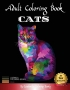 Adult Coloring Book Cats